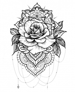 Mandala tatoo idea inspiration 3
