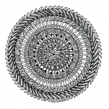 Mandala to color adult very difficult (1)