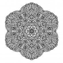 Mandala to color adult very difficult (2)