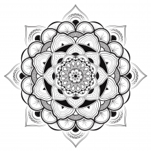 Mandala to download by louise