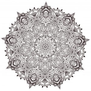 Very stunning Mandala by Anvino