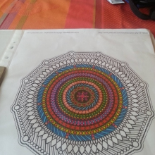 colored-mandala-by-Anne-Genevieve free to print