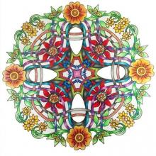 colored-mandala-by-Cynthia free to print