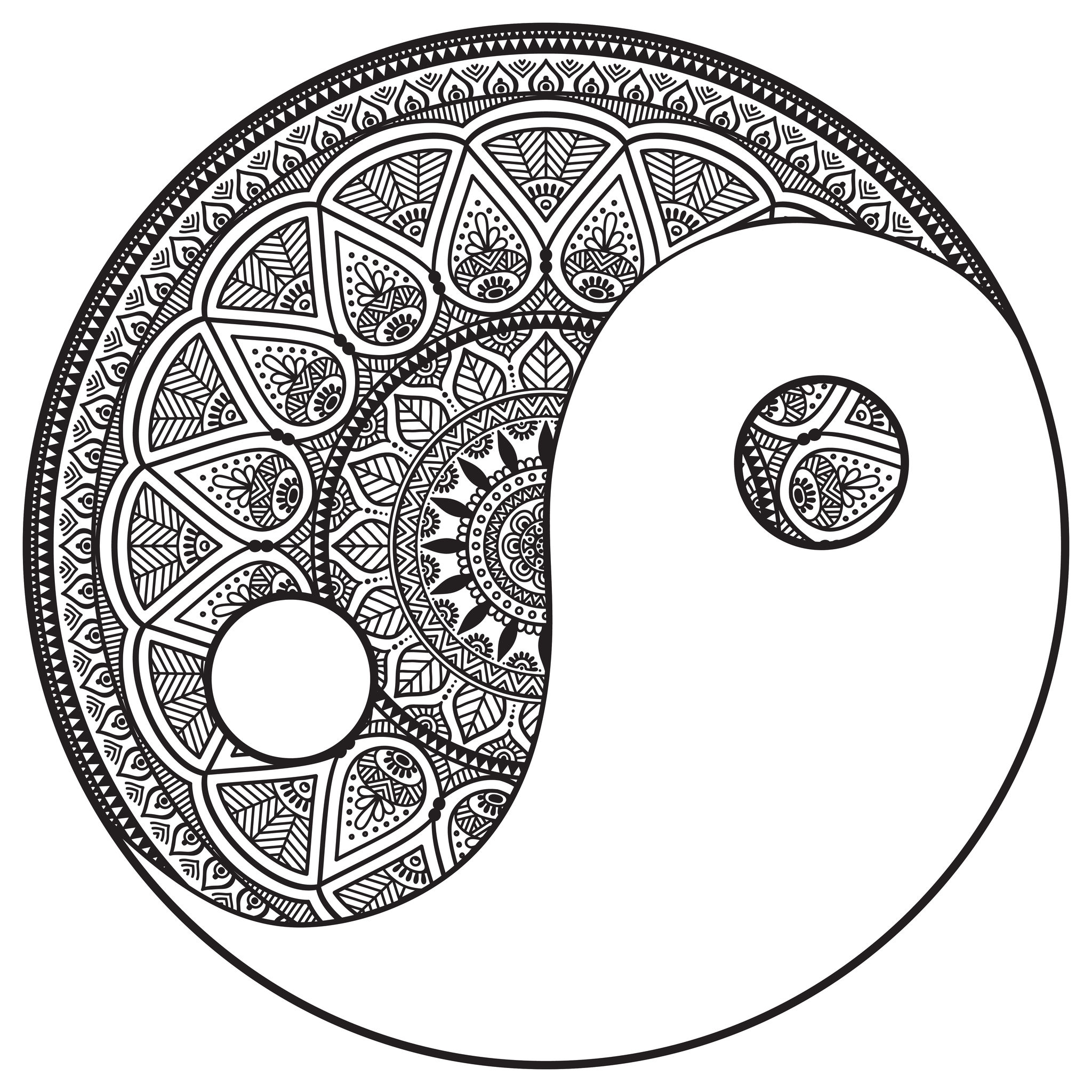 Mandala designs increase self-esteem and stimulate aesthetic sense. Discover it with this beautiful coloring page. Did you know ? Tibetan Buddhist Monks and Native American Indians all use mandalas as a way of evoking spiritual energy, meditation, and healing.