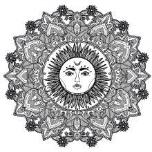 Mandala sun 123rf