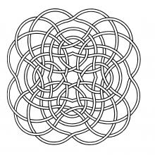 mandala-to-download-big-lines free to print