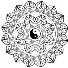 mandala yin yang