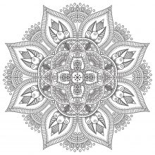 Zen & Anti stress Mandala   8
