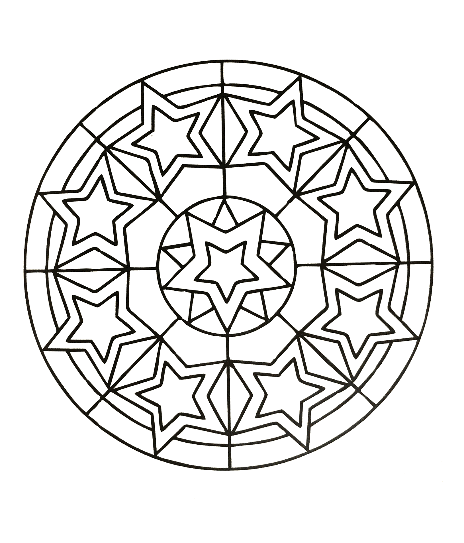 A Mandala guaranteed 100% Relaxation, for a pure ZEN moment. You will quickly feel the benefits of coloring. The symbolic significance of the mandala relates to the idea of totality and wholeness.