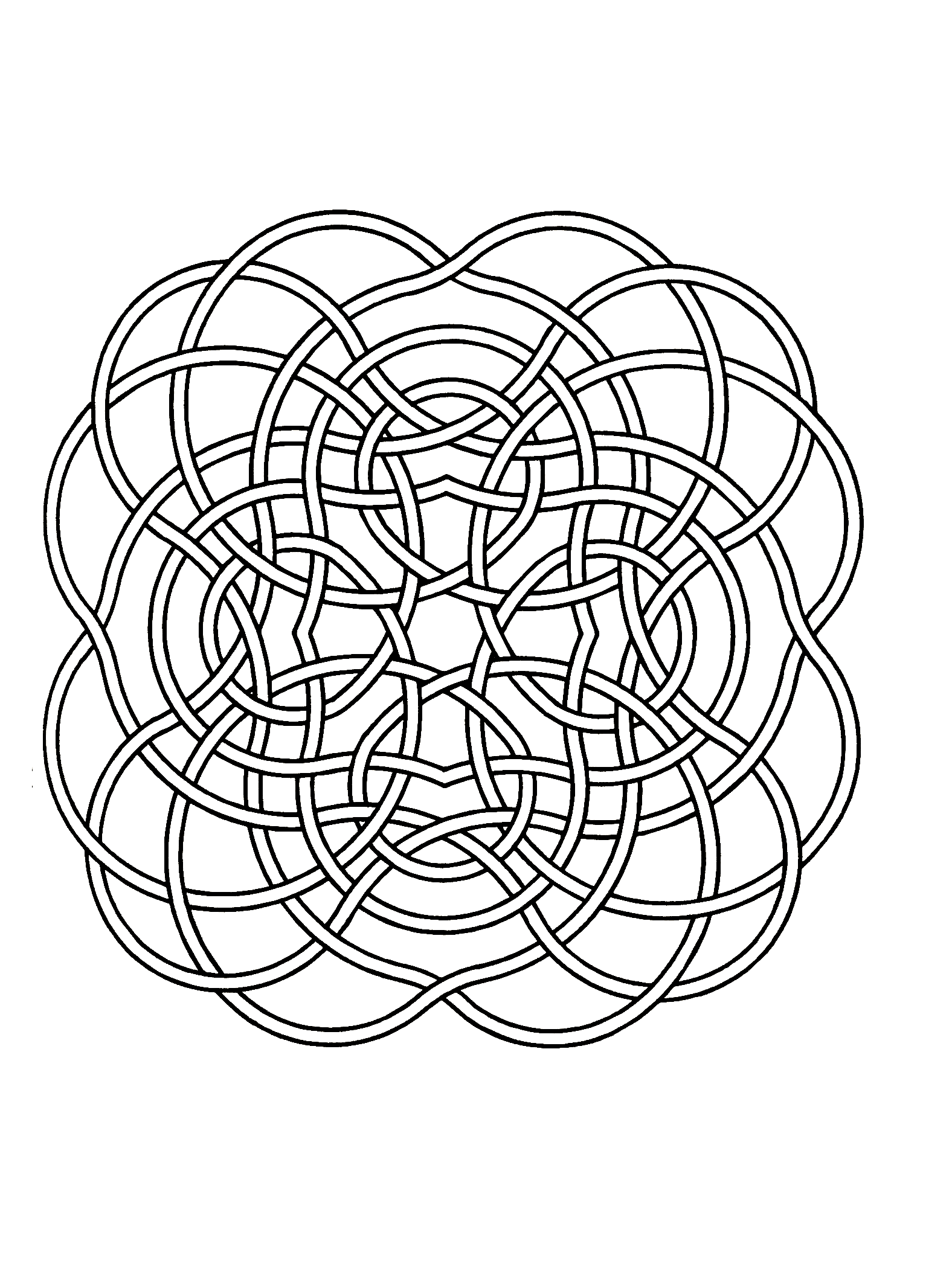 Express your soul, your passion, and the result will certainly be perfect. You must clear your mind and allow yourself to forget all your worries and responsibilities. This mandala is composed of multiple fine ribbons.