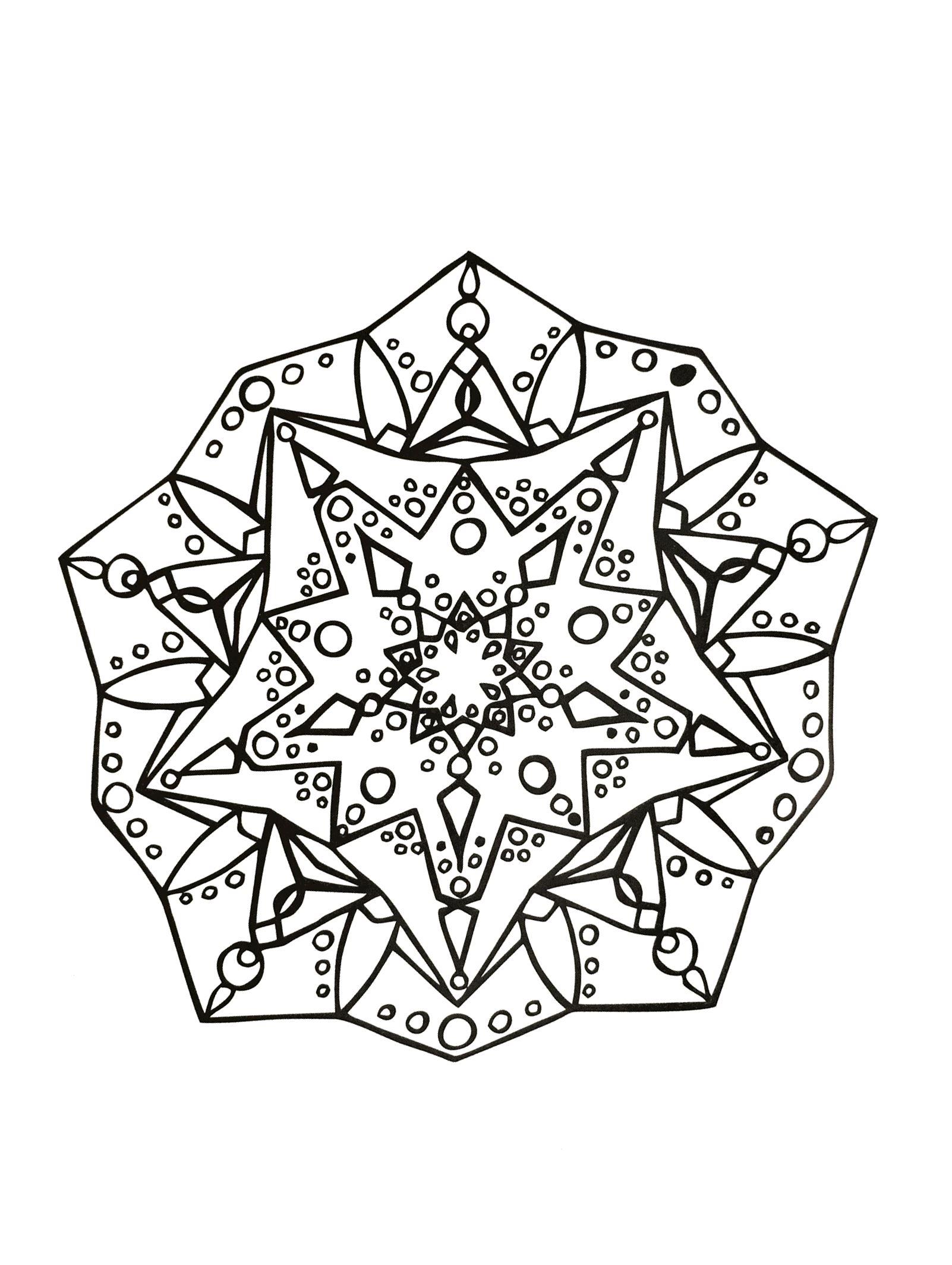 Mandala zen anti stress 1