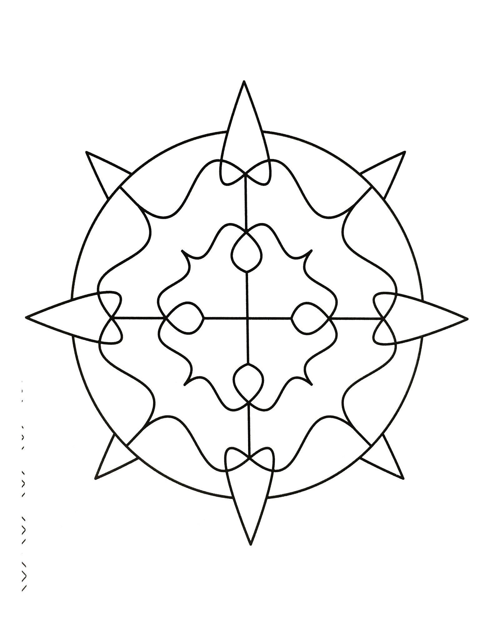 Mandala zen anti stress 12