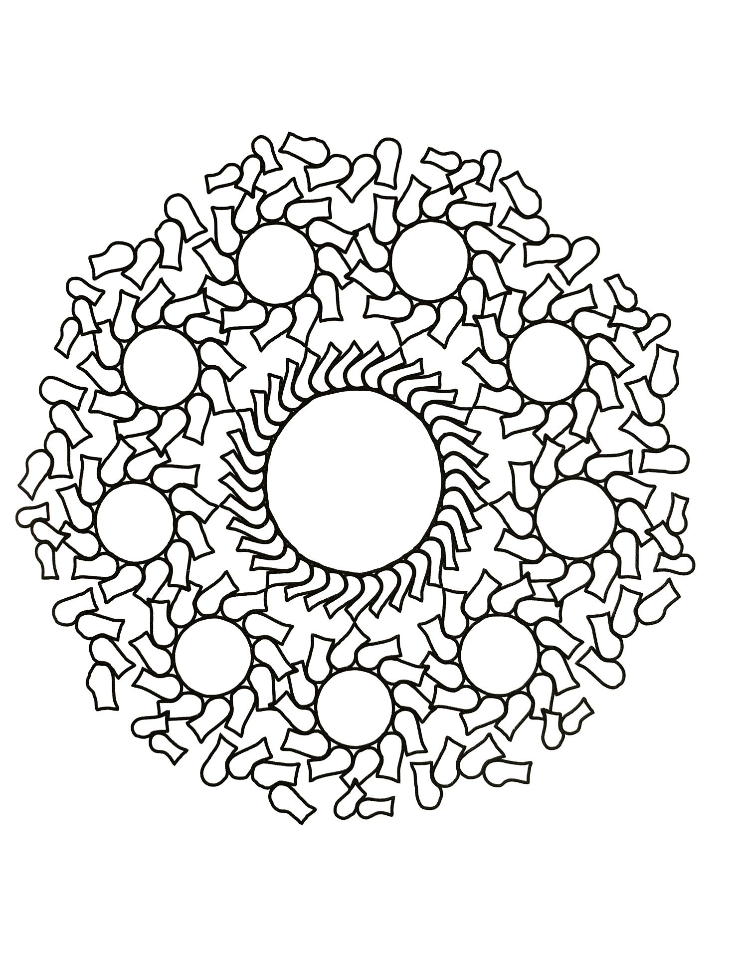 Mandala zen anti stress 16