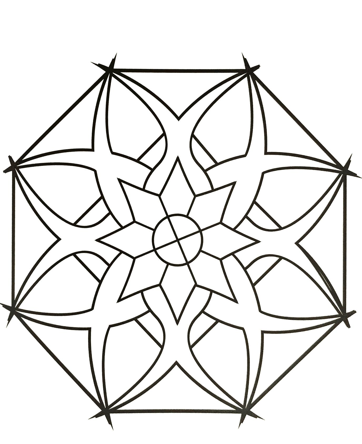 Incredible Zen & Anti-stress Mandala. Designing and coloring mandalas bring peace and tranquility.