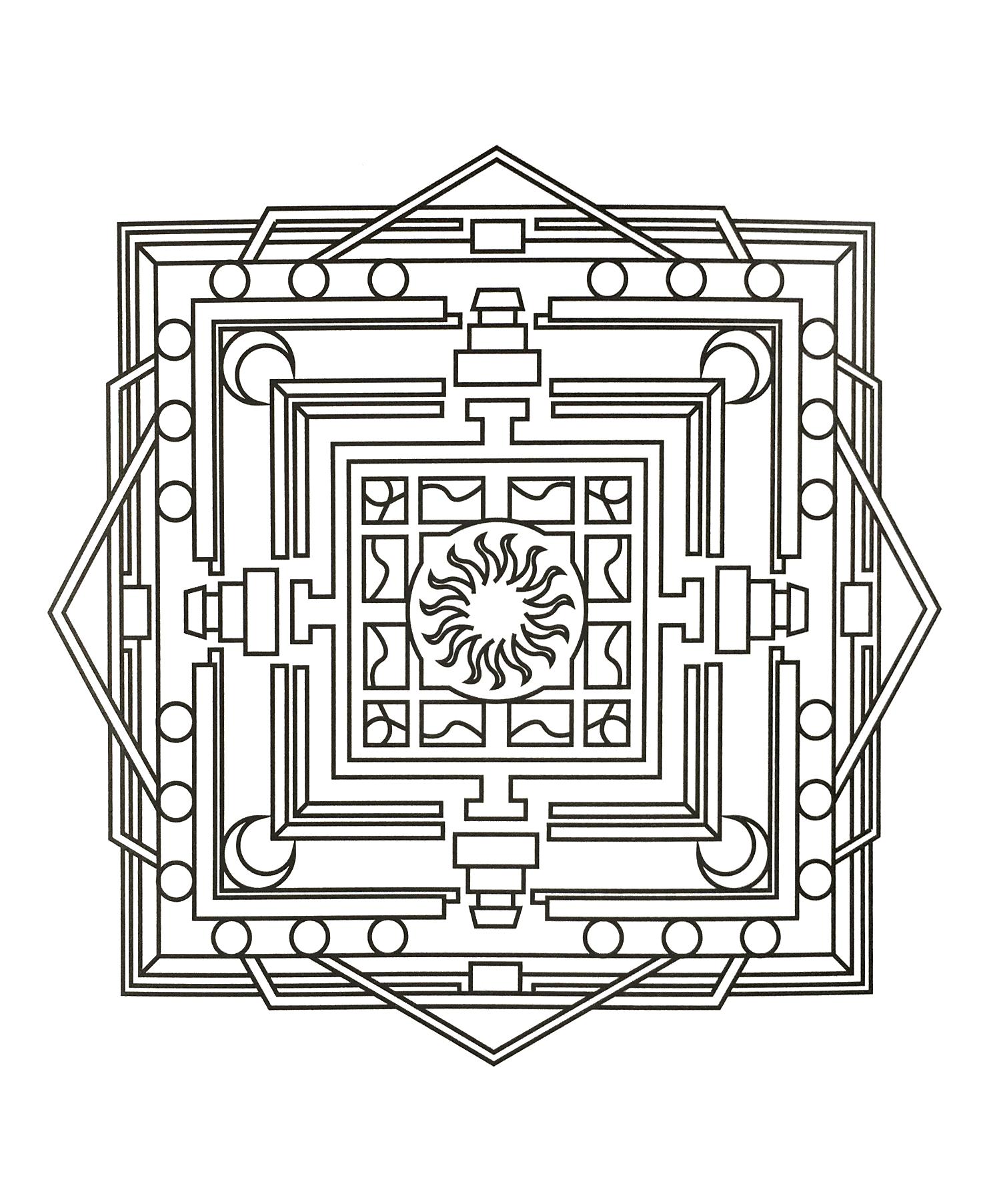 Mandala zen anti stress 4
