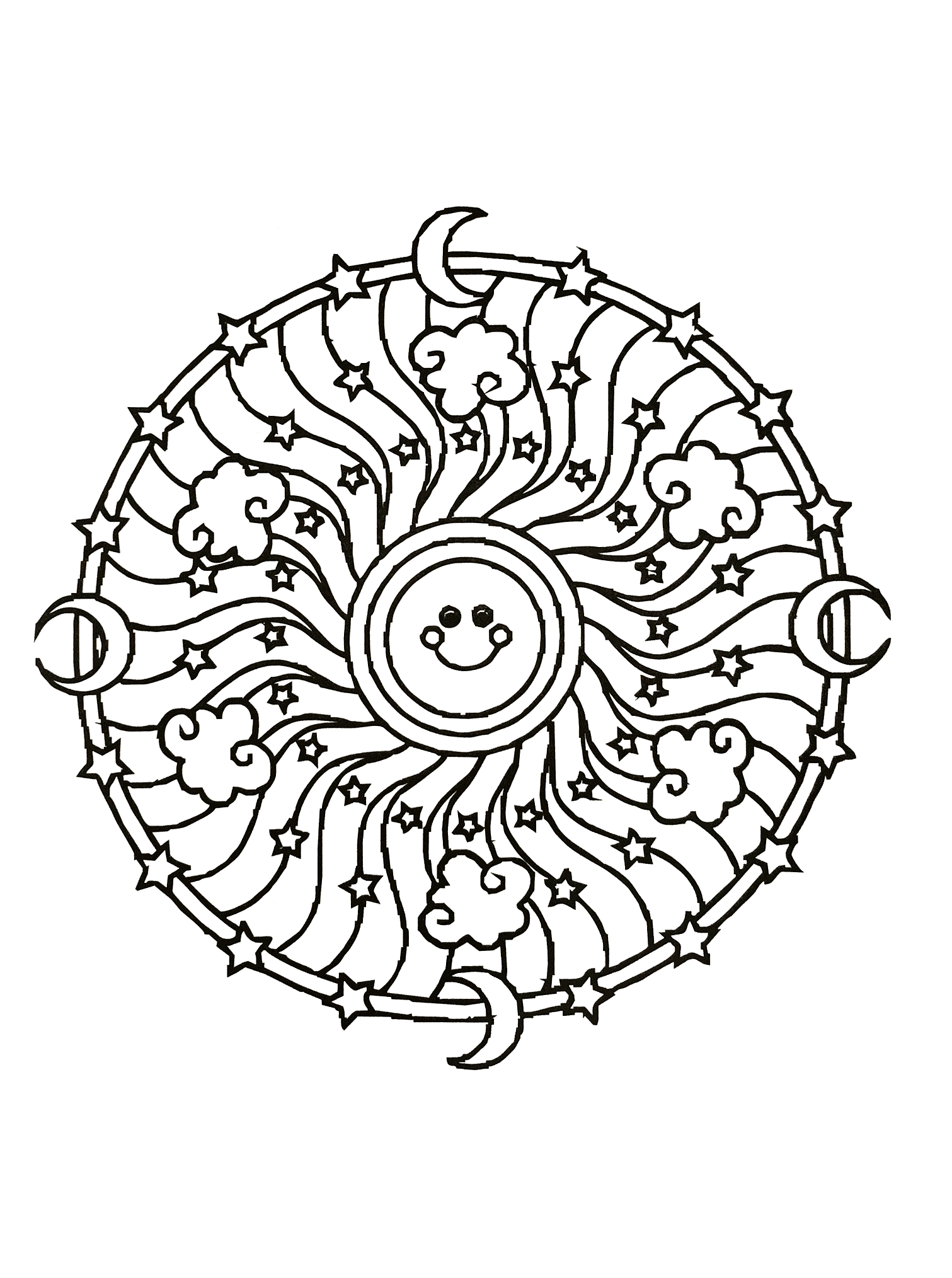 A Mandala guaranteed 100% Zen, for a moment of pure relaxation. You will quickly feel the benefits of coloring. Do whatever it takes to get rid of any distractions that may interfere with your coloring.
