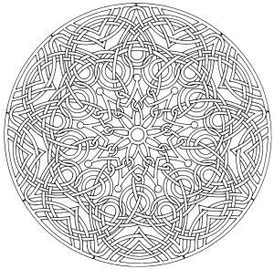 Complex, nice & elegant Mandala