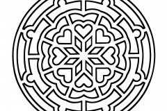 Mandala to color zen relax free (16)
