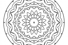 Mandala to color zen relax free (17)