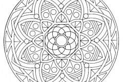 Mandala to color zen relax free (18)