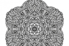 Mandala to color zen relax free (21)