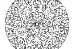 Mandala to color zen relax free (4)