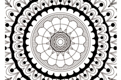 mandala to color zen relax free (9)