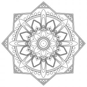 """Art therapy"" Mandala"