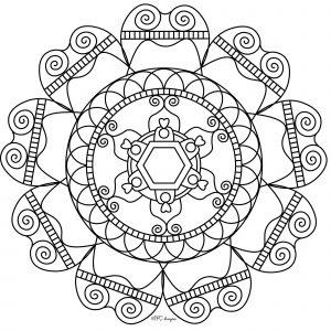Simple & inspiring Mandala